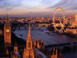 Лондон - столица Великобритании.