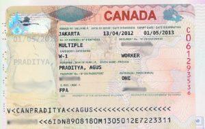 Рабочая виза в Канаду.
