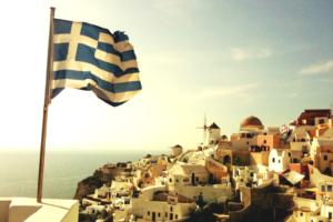 Государственный флаг Греции.