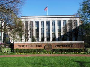 Один из самых престижных университетов страны - Northeastern.