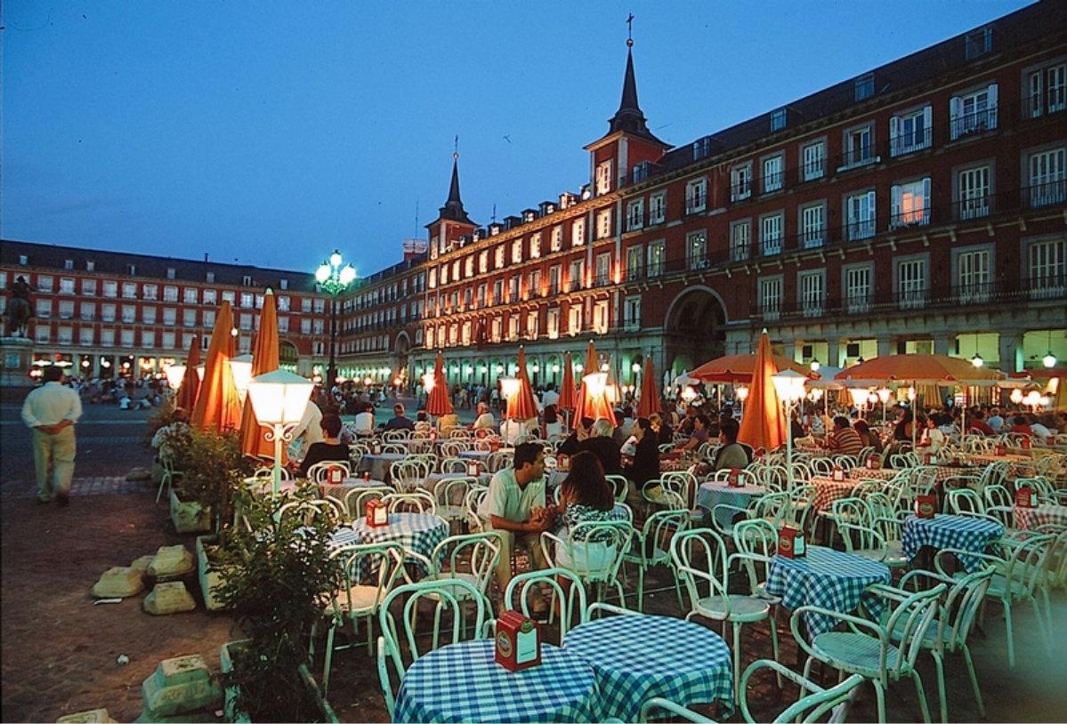 Мадридский Бродвей.
