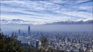 Сантьяго - столица Чили.
