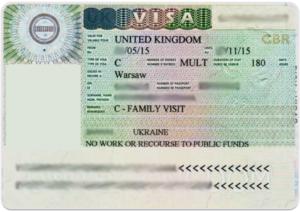 Family Visas - семейная виза, позволяющая жителям Англии приглашать к себе родных.