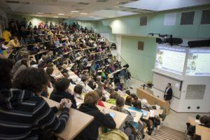 Лекция в Техническом Университете Праги