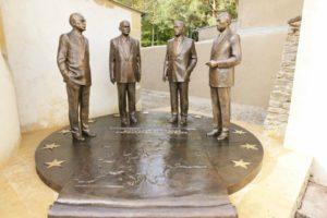 Памятник отцам-основателям Евросоюза