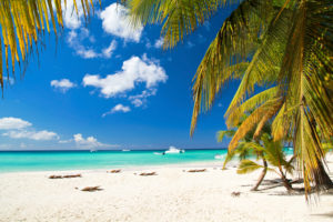 На кубинских пляжах белоснежный песок