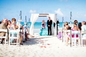 Пляжная свадьба в Доминиканской Республике