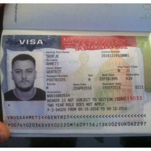 Рабочая виза в Америку (в данном случае категории J1)