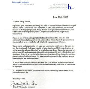 Пример рекомендательного письма с предыдущего места работы на английском языке