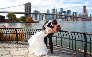 Свадьба в Нью-Йорке.