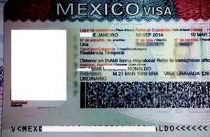 Рабочая виза в Мексику.