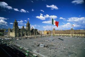 Мехико - столица Мексики.