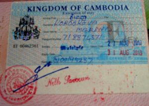 Бизнес виза в Камбоджу.