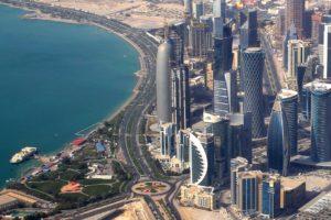 Доха — столица Катара.