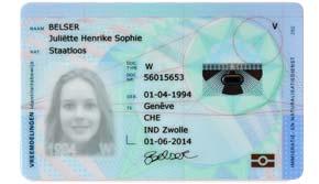 Голландское удостоверение личности (ID)