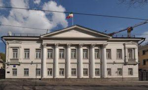 Здание посольства ИРИ в Москве