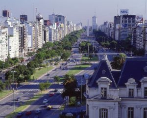 Буэнос-Айрес, столица Аргентины.