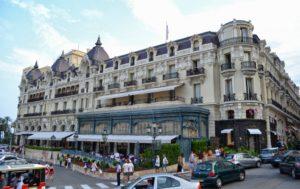 Всемирно известный отель в Монако - Де Пари.