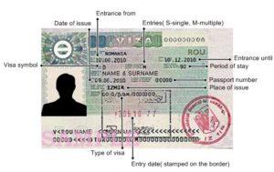 Так выглядит национальная румынская виза