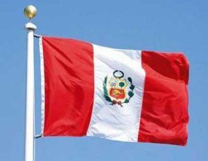 Государственный флаг Перу