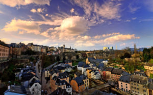 Люксембург Сити (столица государства)