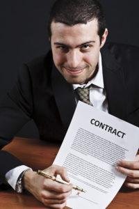 Не теряйте бдительность при подписании контракта.