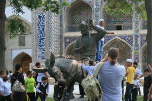 Туристы из России намного чаще стали посещать Узбекистан.
