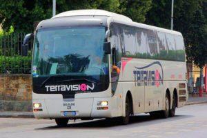 Автобус Terravision.