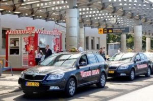 Из аэропорта Ференца Листа на такси