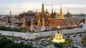 Большой дворец в Бангкок.