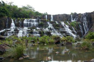 Водопад Понгур, Далат.