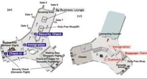 Схема аэропорта Нойбай.