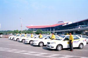 Такси в Noi Bai.