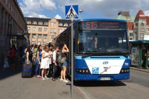 Хельсинки Вантаа автобус 615.