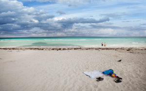 Один из пляжей Касабланки