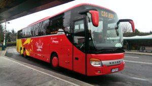 Автобус VEA в парижском аэропорту