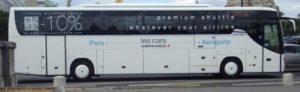 Автобус Air France в аэропорт Парижа