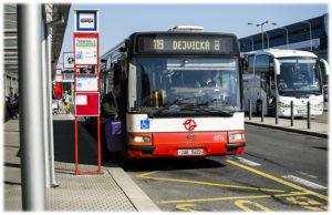 119 автобус из аэропорта Праги