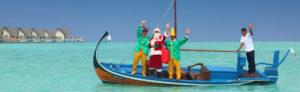 дед Мороз на Мальдивских островах