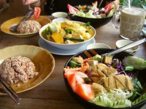 еда в кафе Таиланда
