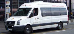 Микроавтобус из аэропорта Праги