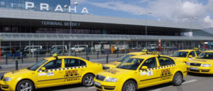 такси в аэропорту Праги