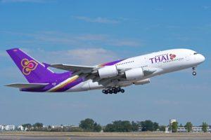 Thai Airways - наиболее популярный авиаперевозчик в данном направлении