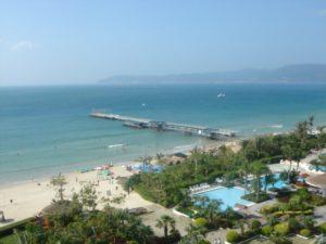 залив Ялувань, остров Хайнань