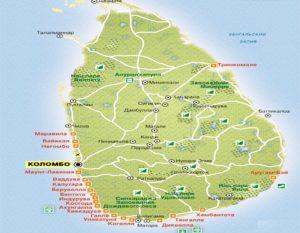 Курорты Шри-Ланки.
