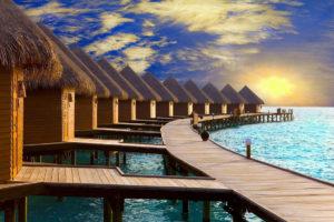 Когда лучше ехать на Мальдивы? Климат и погода по месяцам