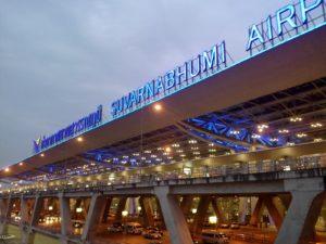 Бангкок, аэропорт Суварнабхуми.