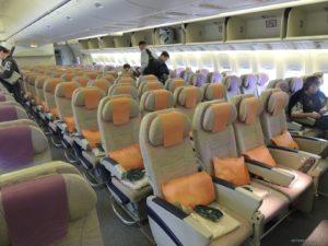 Эконом-класс в Боинге-777-300 авиакомпании Emirates.