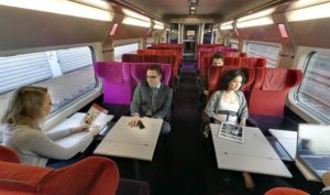 Из Брюсселя в Париж на поезде.