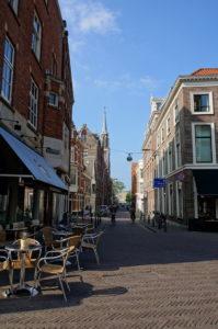 Тихие улочки, удобные кафе в Гааге.